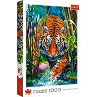 Trefl - Puzzle animale Tigru Puzzle Adulti, pcs  1000, Multicolor
