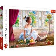 Trefl - Puzzle personaje Micuta balerina Puzzle Copii, pcs  500, Multicolor
