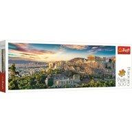 Trefl - Puzzle peisaje Panorama Acropolis Atena Puzzle Copii, pcs  500, Multicolor