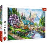 Trefl - Puzzle peisaje Peisaj mirific Puzzle Copii, pcs  500, Multicolor