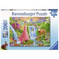 Ravensburger - Puzzle Zana animalelor, 200 piese