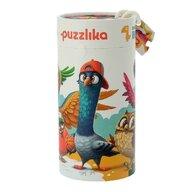 Cubika - Puzzle animale 5 in 1 Puzzle Copii, pcs  25