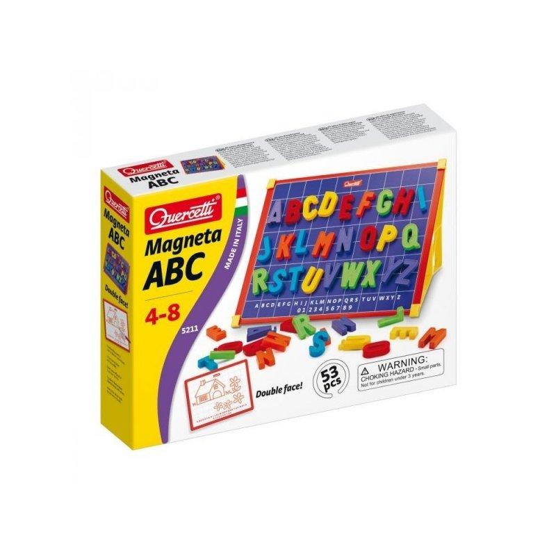 Quercetti Joc creativ Magneta ABC Quercetti litere magnetice din categoria Jucarii educative de la Quercetti