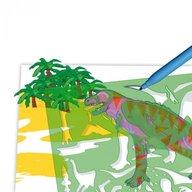 Quercetti - Set creativ Forme Dinozauri