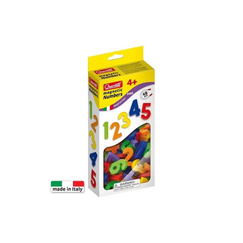 Quercetti Set 48 cifre magnetice din categoria Jucarii educative de la Quercetti