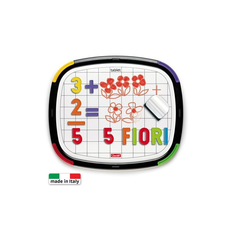 Quercetti Tableta litere + cifre din categoria Jucarii educative de la Quercetti