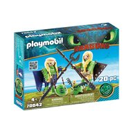 Playmobil - Raffnut si Taffnut in costume de zbor