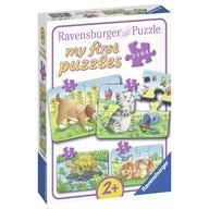 Ravensburger - Primul meu puzzle animale, 2/4/6/8 piese