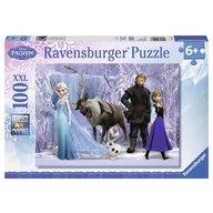 Ravensburger - Puzzle Frozen, 100 piese XXL