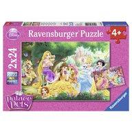 Ravensburger - Puzzle Palace pets, 2x24 piese