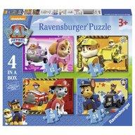 Ravensburger - Puzzle Patrula catelusilor, 12/16/20/24 piese
