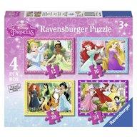 Ravensburger - Puzzle Printesele Disney 12/16/20/24 piese