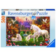 Ravensburger - Puzzle Unicorni, 500 piese