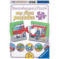 Ravensburger - Puzzle Vehicule motorizate, 9x2 piese