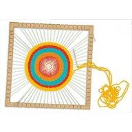 PLAYBOX - Set creativ Razboi de tesut circular