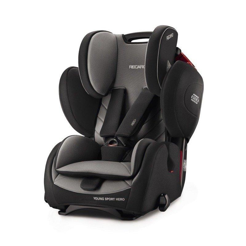 Recaro Scaun Auto pentru Copii fara Isofix Young Sport Hero Carbon Black din categoria Scaune auto copii de la Recaro