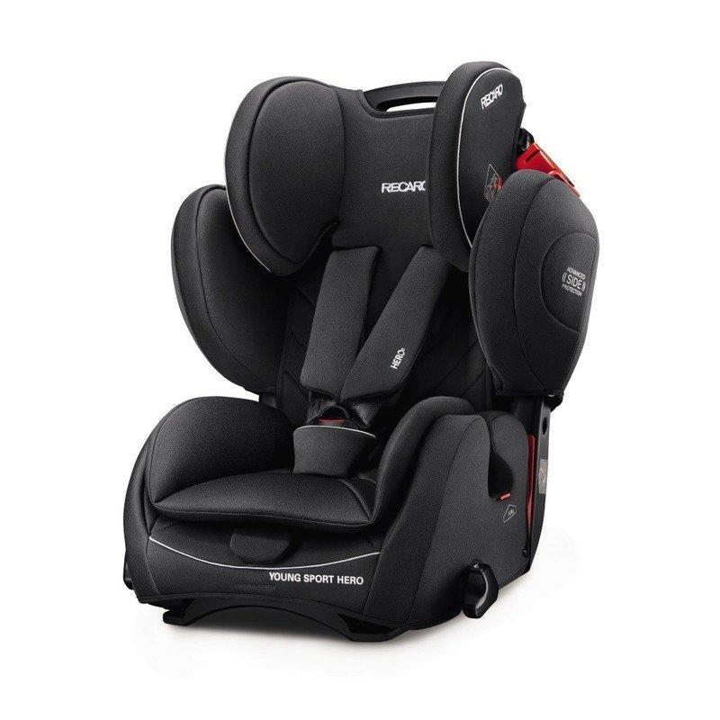 Recaro Scaun Auto pentru Copii fara Isofix Young Sport Hero Performance Black din categoria Scaune auto copii de la Recaro