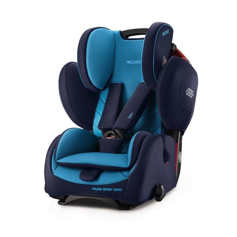 Recaro Scaun Auto pentru Copii fara Isofix Young Sport Hero Xenon Blue din categoria Scaune auto copii de la Recaro