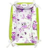 Deseda - Reductor Personalizat Bebe Nest  Bufnite cu mov