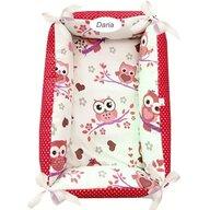 Deseda - Reductor Personalizat Bebe Nest  Bufnite cu rosu