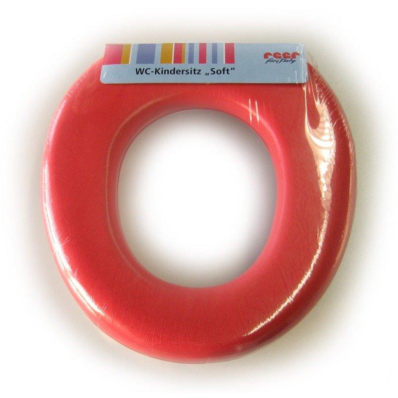 Reductor toaleta buretat rosu REER 4811.2 din categoria Reductoare wc si olite de la REER