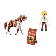 Playmobil - Set figurine Rodeo cu Abigail si Boomerang Spirit