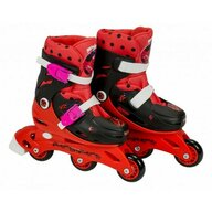 Saica - Role pentru copii cu 3 roti interschimbabile, marime 35-38, Ladybug