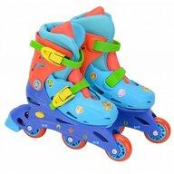 Saica - Role pentru copii cu 3 roti, Paw Patrol, marime reglabila 31-34, roti interschimbabile frana de picior