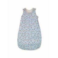 KidsDecor - Sac de dormit fara maneci Baby bear 85 cm din Bumbac, 85x34 cm, 6-12 luni, Tog 0.8, Albastru
