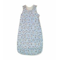 KidsDecor - Sac de dormit fara maneci Baby bear 110 cm din Bumbac, 110x38 cm, 18-36 luni, Tog 0.5, Albastru