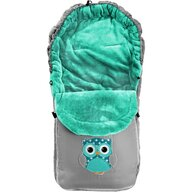 Tutumi - Sac de iarna Owl, Gri/Verde