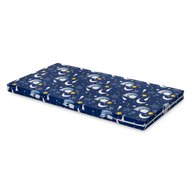 Sensillo - Saltea pentru patut Ursuleti, 120x60 cm, 6 cm Spuma, Albastru