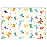 Sobble - Covoras de joaca Butterfly World Pliabila, Eco-friendly, 200x140 cm, Multicolor