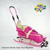 Kummer - Sanie  Winter Glam Plus cu sac roz