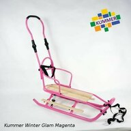 Kummer - Sanie  Winter Glam Simpla Roz