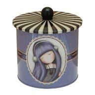 Santoro Gorjuss - Cutie metalica pentru biscuiti Dear Alice