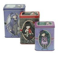 Santoro Gorjuss - Set 3 cutii metalice Dear Alice The Collector Little Song.