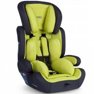 Ricokids - Scaun auto Massi Spatar reglabil, Protectie laterala, 9-36 Kg, Verde