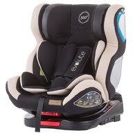 Chipolino - Scaun auto Evolute Spatar reglabil, Protectie laterala, Rotire 360 grade, 0-36 Kg, cu Isofix