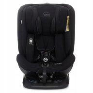 Coto Baby - Scaun auto Baby Hevelius 360 Melange Spatar reglabil, Protectie laterala, Rotire 360 grade, 0-36 Kg, cu Isofix, Negru