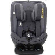 Coto Baby - Scaun auto Baby Hevelius 360 Melange Spatar reglabil, Protectie laterala, Rotire 360 grade, 0-36 Kg, cu Isofix, Gri/Negru
