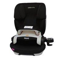 Coto Baby - Scaun auto Salvo Spatar reglabil, Protectie laterala, 9-36 Kg, cu Isofix, Negru