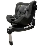 Coto Baby - Scaun auto Solario Melange Spatar reglabil, Protectie laterala, Rotire 360 grade, 0-18 Kg, cu Isofix, Gri