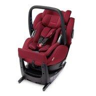 Recaro - Scaun auto Salia Elite Select Garnet Spatar reglabil, Protectie laterala, Rotire 360 grade, 0-18 Kg, Rosu