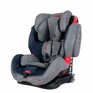 Coletto - Scaun auto Sportivo Spatar reglabil, Pozitie de somn, Protectie laterala, 9-36 Kg, Albastru