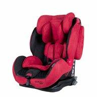 Coletto - Scaun auto Sportivo Spatar reglabil, Pozitie de somn, Protectie laterala, 9-36 Kg, Rosu