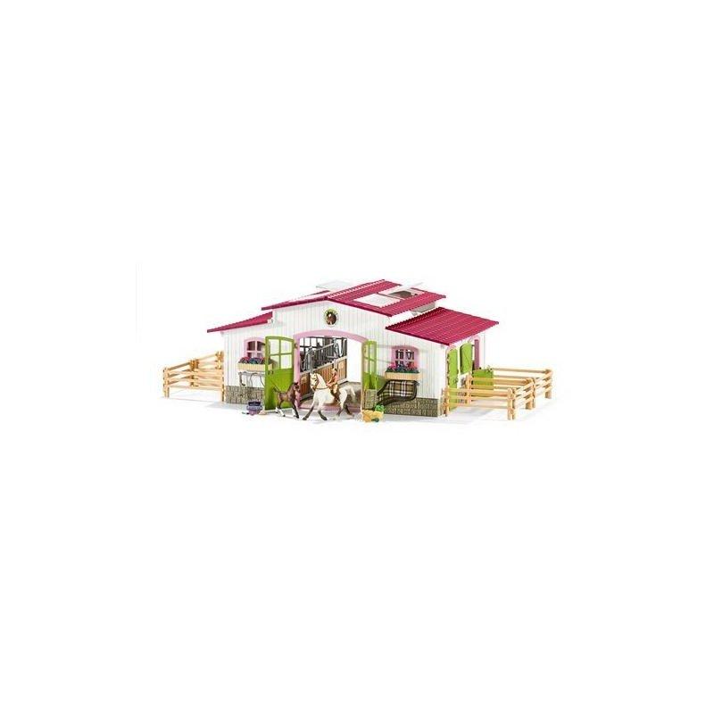 Schleich Centru De Calarie Cu Accesorii Cai Si Calaret din categoria Figurine copii de la Schleich