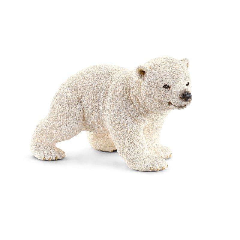 Schleich Figurina Animal Pui De Urs Polar Mergand
