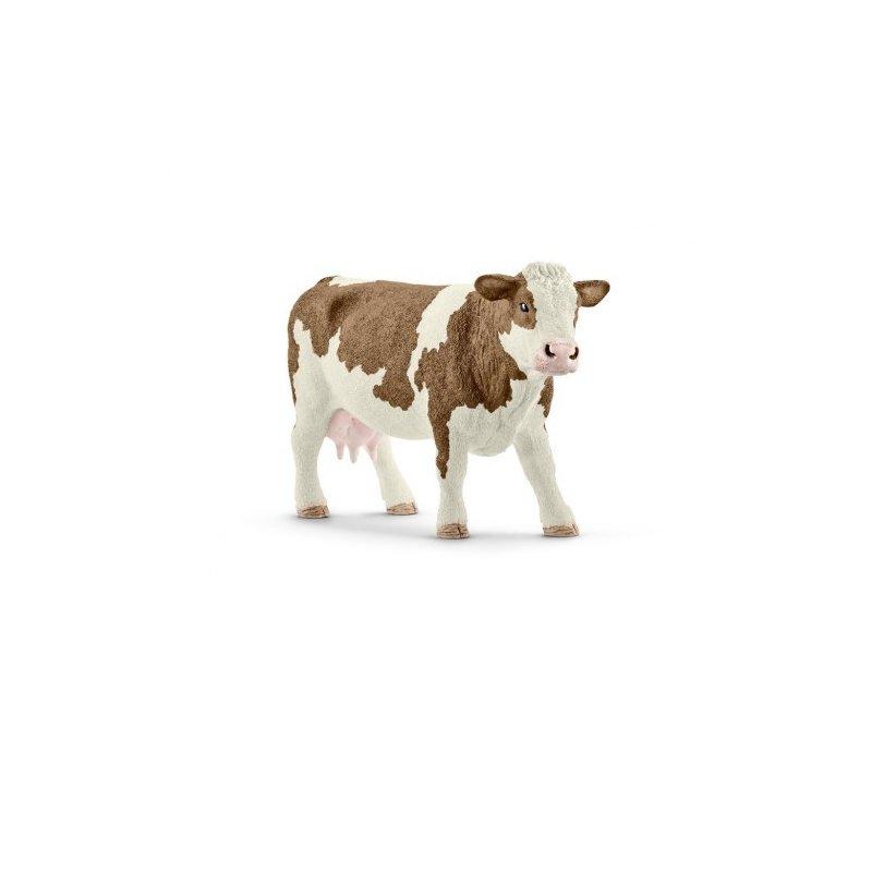 Schleich Figurina Vaca Simmental din categoria Figurine copii de la Schleich