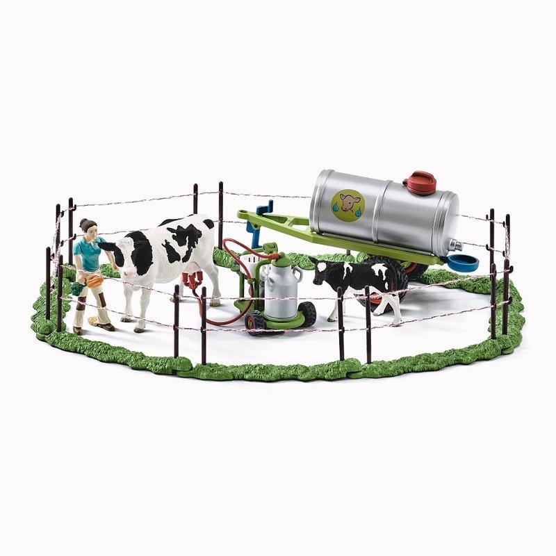 Schleich Figurine Familie De Vaci Pe Pasune din categoria Figurine copii de la Schleich